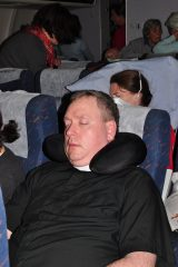 2011 Lourdes Pilgrimage - Airplane Home (33/37)