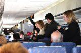 2011 Lourdes Pilgrimage - Airplane Over (16/22)