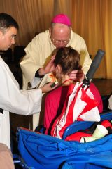 2011 Lourdes Pilgrimage - Anointing (74/117)