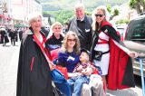 2011 Lourdes Pilgrimage - Archbishop Dolan with Malades (3/267)
