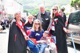 2011 Lourdes Pilgrimage - Archbishop Dolan with Malades (4/267)