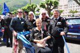 2011 Lourdes Pilgrimage - Archbishop Dolan with Malades (5/267)