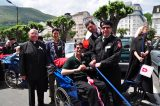2011 Lourdes Pilgrimage - Archbishop Dolan with Malades (10/267)