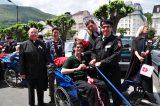 2011 Lourdes Pilgrimage - Archbishop Dolan with Malades (11/267)