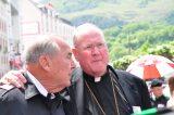 2011 Lourdes Pilgrimage - Archbishop Dolan with Malades (14/267)