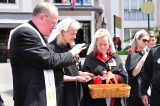 2011 Lourdes Pilgrimage - Archbishop Dolan with Malades (18/267)