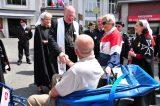 2011 Lourdes Pilgrimage - Archbishop Dolan with Malades (19/267)