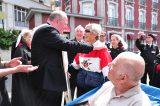 2011 Lourdes Pilgrimage - Archbishop Dolan with Malades (20/267)