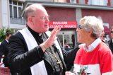 2011 Lourdes Pilgrimage - Archbishop Dolan with Malades (21/267)