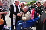 2011 Lourdes Pilgrimage - Archbishop Dolan with Malades (24/267)