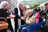 2011 Lourdes Pilgrimage - Archbishop Dolan with Malades (25/267)