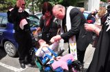 2011 Lourdes Pilgrimage - Archbishop Dolan with Malades (26/267)