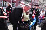 2011 Lourdes Pilgrimage - Archbishop Dolan with Malades (32/267)