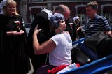 2011 Lourdes Pilgrimage - Archbishop Dolan with Malades (34/267)