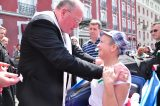 2011 Lourdes Pilgrimage - Archbishop Dolan with Malades (35/267)