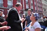 2011 Lourdes Pilgrimage - Archbishop Dolan with Malades (36/267)