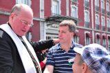 2011 Lourdes Pilgrimage - Archbishop Dolan with Malades (37/267)