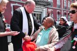 2011 Lourdes Pilgrimage - Archbishop Dolan with Malades (39/267)