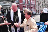 2011 Lourdes Pilgrimage - Archbishop Dolan with Malades (44/267)