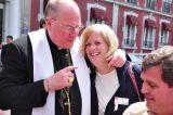 2011 Lourdes Pilgrimage - Archbishop Dolan with Malades (46/267)