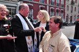 2011 Lourdes Pilgrimage - Archbishop Dolan with Malades (47/267)