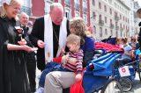 2011 Lourdes Pilgrimage - Archbishop Dolan with Malades (50/267)
