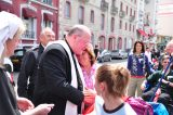 2011 Lourdes Pilgrimage - Archbishop Dolan with Malades (58/267)