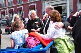 2011 Lourdes Pilgrimage - Archbishop Dolan with Malades (61/267)