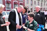 2011 Lourdes Pilgrimage - Archbishop Dolan with Malades (64/267)