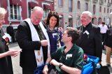 2011 Lourdes Pilgrimage - Archbishop Dolan with Malades (65/267)