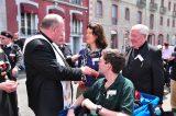 2011 Lourdes Pilgrimage - Archbishop Dolan with Malades (66/267)
