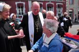 2011 Lourdes Pilgrimage - Archbishop Dolan with Malades (70/267)