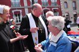 2011 Lourdes Pilgrimage - Archbishop Dolan with Malades (71/267)