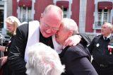 2011 Lourdes Pilgrimage - Archbishop Dolan with Malades (72/267)