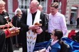 2011 Lourdes Pilgrimage - Archbishop Dolan with Malades (73/267)