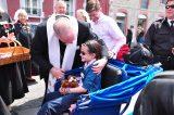 2011 Lourdes Pilgrimage - Archbishop Dolan with Malades (74/267)