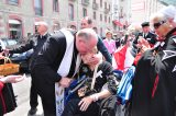 2011 Lourdes Pilgrimage - Archbishop Dolan with Malades (77/267)