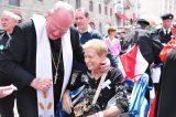 2011 Lourdes Pilgrimage - Archbishop Dolan with Malades (78/267)