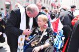 2011 Lourdes Pilgrimage - Archbishop Dolan with Malades (79/267)