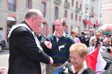 2011 Lourdes Pilgrimage - Archbishop Dolan with Malades (80/267)
