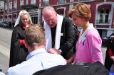 2011 Lourdes Pilgrimage - Archbishop Dolan with Malades (87/267)