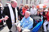 2011 Lourdes Pilgrimage - Archbishop Dolan with Malades (89/267)
