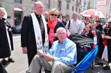 2011 Lourdes Pilgrimage - Archbishop Dolan with Malades (92/267)