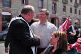 2011 Lourdes Pilgrimage - Archbishop Dolan with Malades (96/267)
