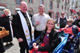 2011 Lourdes Pilgrimage - Archbishop Dolan with Malades (98/267)