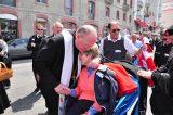 2011 Lourdes Pilgrimage - Archbishop Dolan with Malades (99/267)