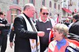 2011 Lourdes Pilgrimage - Archbishop Dolan with Malades (103/267)