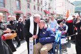 2011 Lourdes Pilgrimage - Archbishop Dolan with Malades (111/267)