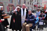 2011 Lourdes Pilgrimage - Archbishop Dolan with Malades (114/267)