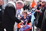 2011 Lourdes Pilgrimage - Archbishop Dolan with Malades (117/267)